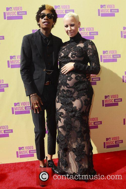 Wiz Khalifa, Amber Rose and Mtv Video Music Awards 5