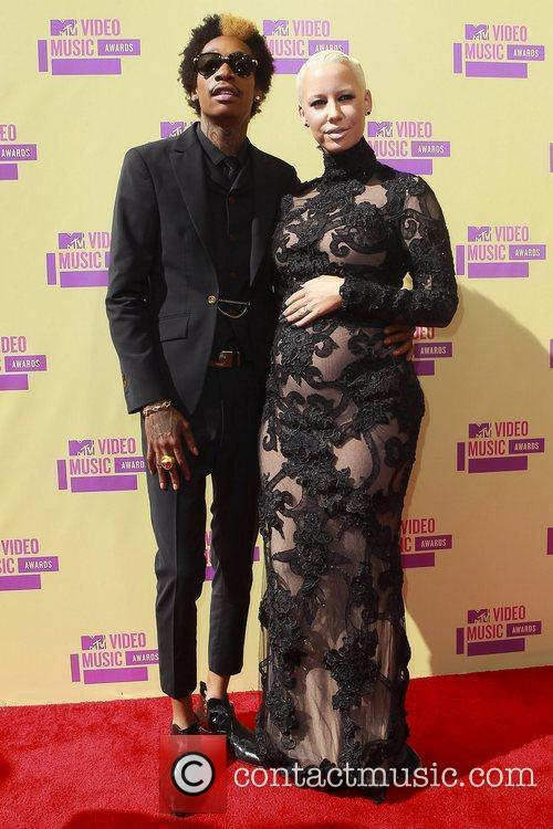 Wiz Khalifa, Amber Rose and Mtv Video Music Awards 6