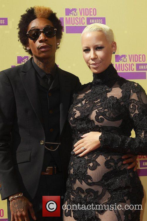 Wiz Khalifa, Amber Rose and Mtv Video Music Awards 7