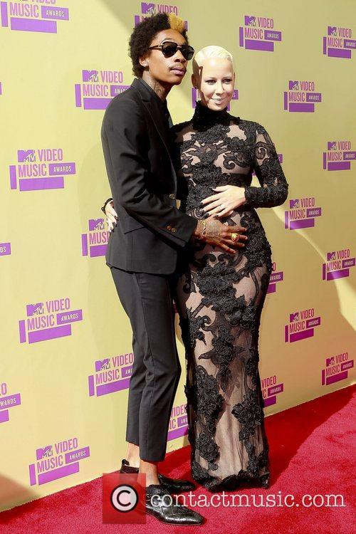 Wiz Khalifa, Amber Rose and Mtv Video Music Awards 2