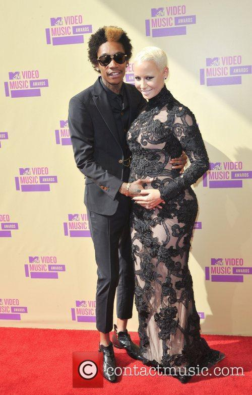 Wiz Khalifa, Amber Rose and Mtv Video Music Awards 4