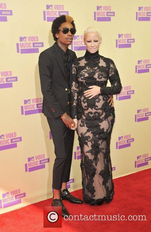 Wiz Khalifa, Amber Rose and Mtv Video Music Awards 1