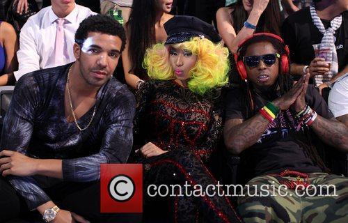 Drake, Lil Wayne and Nicki Minaj 3