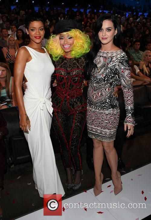 Rihanna, Katy Perry and Nicki Minaj 1
