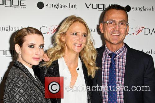 Emma Roberts, Nanette Lepore and Steven Kolb The...
