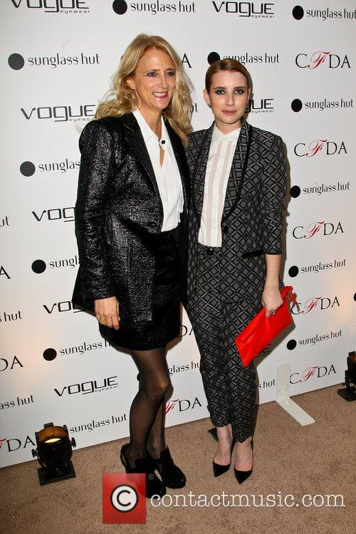 The Vogue Eyewear and CFDA unveiling of the...