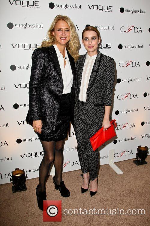 Nanette Lepore and Emma Roberts 4