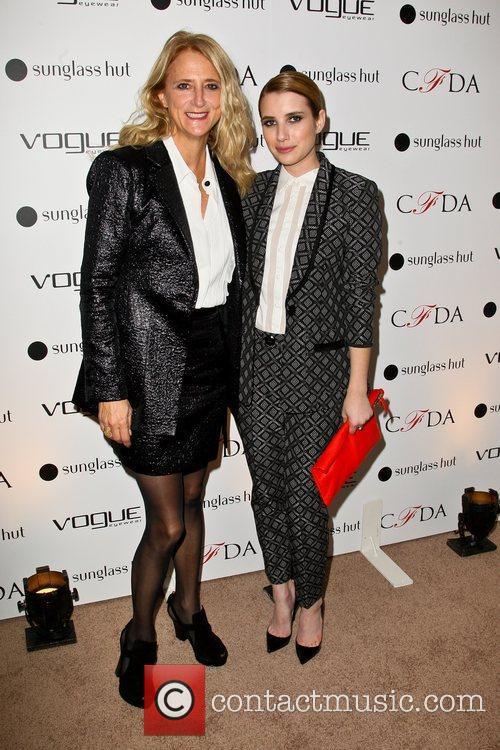 Nanette Lepore and Emma Roberts 6