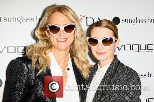 Nanette Lepore and Emma Roberts 9