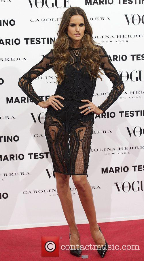 Izabel Goulart, Vogue December Issue Launch, Party, Palacio Fernan Nunez. Madrid and Spain 4