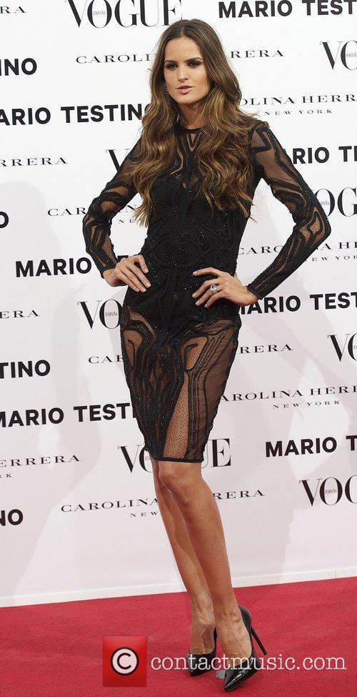 Izabel Goulart, Vogue December Issue Launch, Party, Palacio Fernan Nunez. Madrid and Spain 5