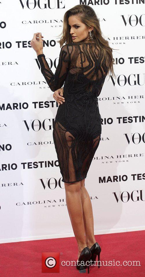 Izabel Goulart, Vogue December Issue Launch, Party, Palacio Fernan Nunez. Madrid and Spain 3