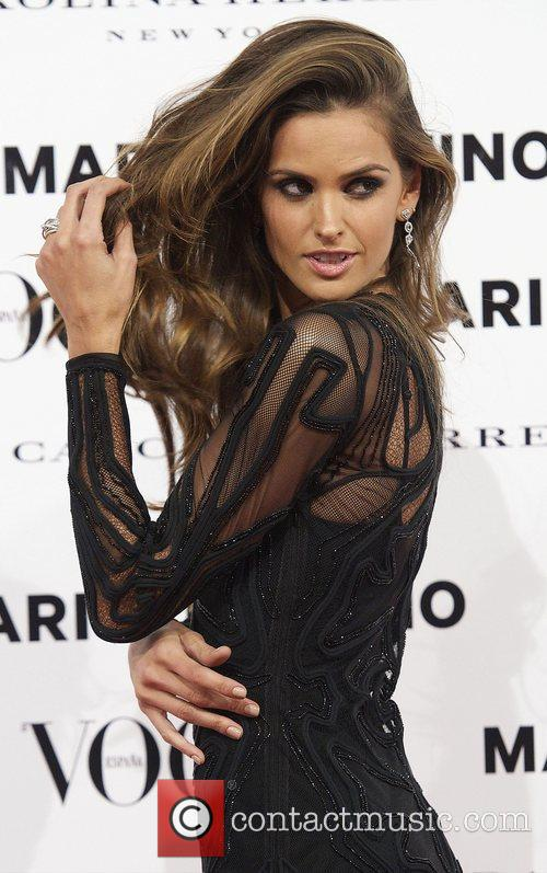 Izabel Goulart, Vogue December Issue Launch, Party, Palacio Fernan Nunez. Madrid and Spain 2
