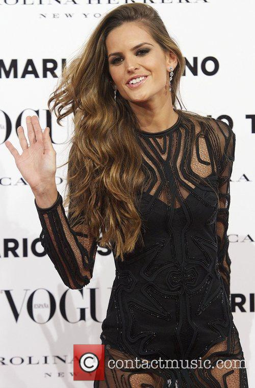 Izabel Goulart, Vogue December Issue Launch, Party, Palacio Fernan Nunez. Madrid and Spain 6