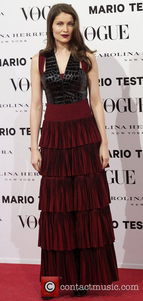 Laetitia Casta, Vogue December Issue Launch, Party, Palacio Fernan Nunez. Madrid and Spain 4