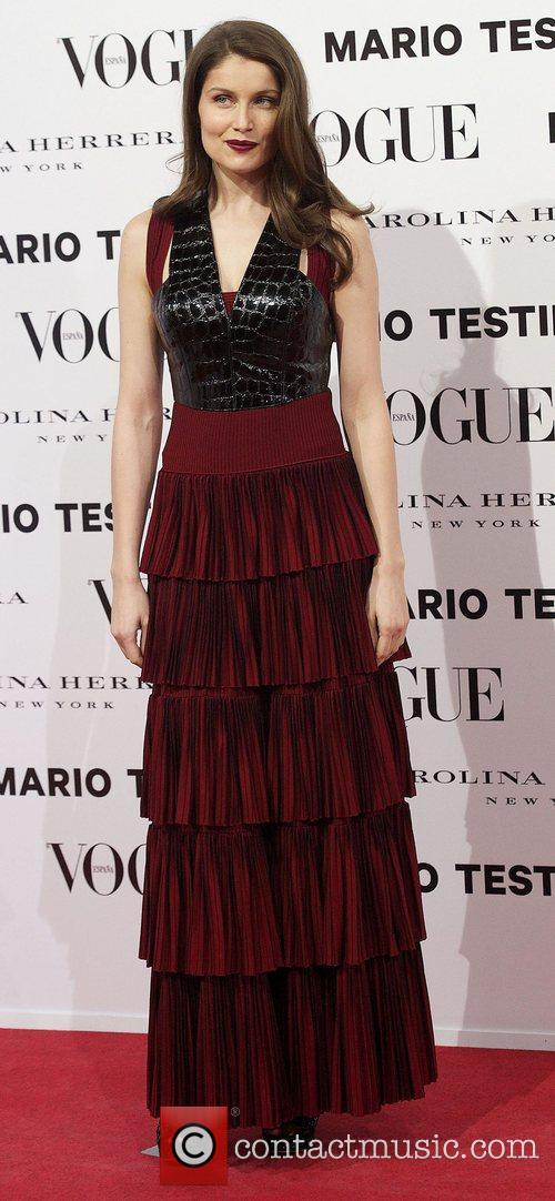 Laetitia Casta, Vogue December Issue Launch, Party, Palacio Fernan Nunez. Madrid and Spain 3