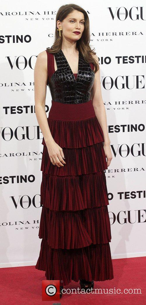 Laetitia Casta, Vogue December Issue Launch, Party, Palacio Fernan Nunez. Madrid and Spain 5