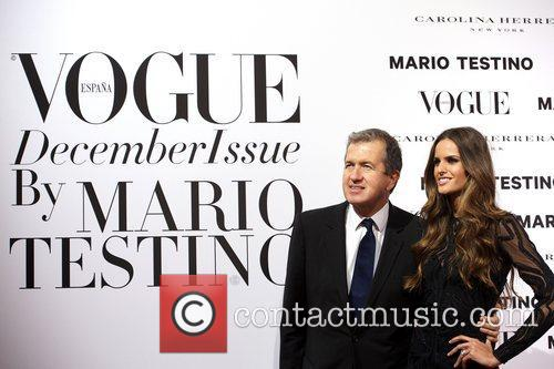 Mario Testino, Izabel Goulart, Vogue December Issue Launch, Party, Palacio Fernan Nunez. Madrid and Spain 4