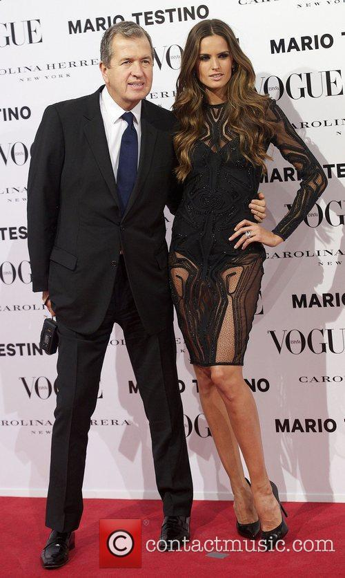 Mario Testino, Izabel Goulart, Vogue December Issue Launch, Party, Palacio Fernan Nunez. Madrid and Spain 6