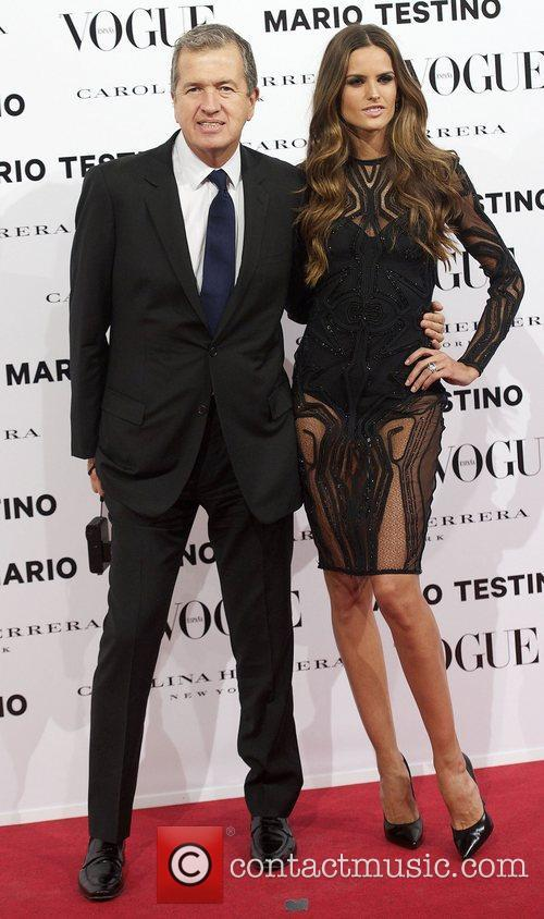 Mario Testino, Izabel Goulart, Vogue December Issue Launch, Party, Palacio Fernan Nunez. Madrid and Spain 5