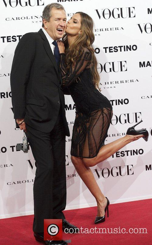 Mario Testino, Izabel Goulart, Vogue December Issue Launch, Party, Palacio Fernan Nunez. Madrid and Spain 7