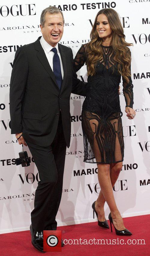Mario Testino, Izabel Goulart, Vogue December Issue Launch, Party, Palacio Fernan Nunez. Madrid and Spain 3