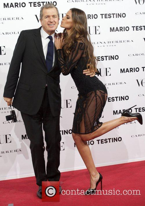 Mario Testino, Izabel Goulart, Vogue December Issue Launch, Party, Palacio Fernan Nunez. Madrid and Spain 2