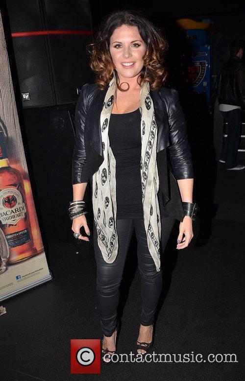 Lisa Cannon,  at the VVIP Awards 2012...