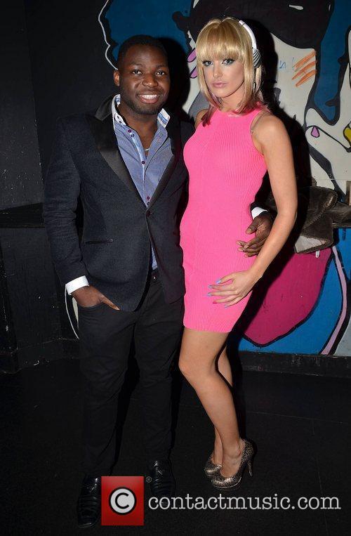 Manners Oshafi & Emma Waldron,  at the...