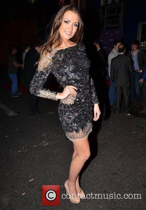 Rebecca Maguire,  at the VVIP Awards 2012...