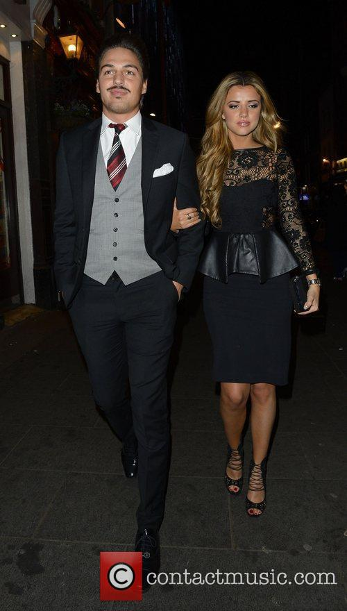Mario Falcone and Lucy Mecklenburgh 3