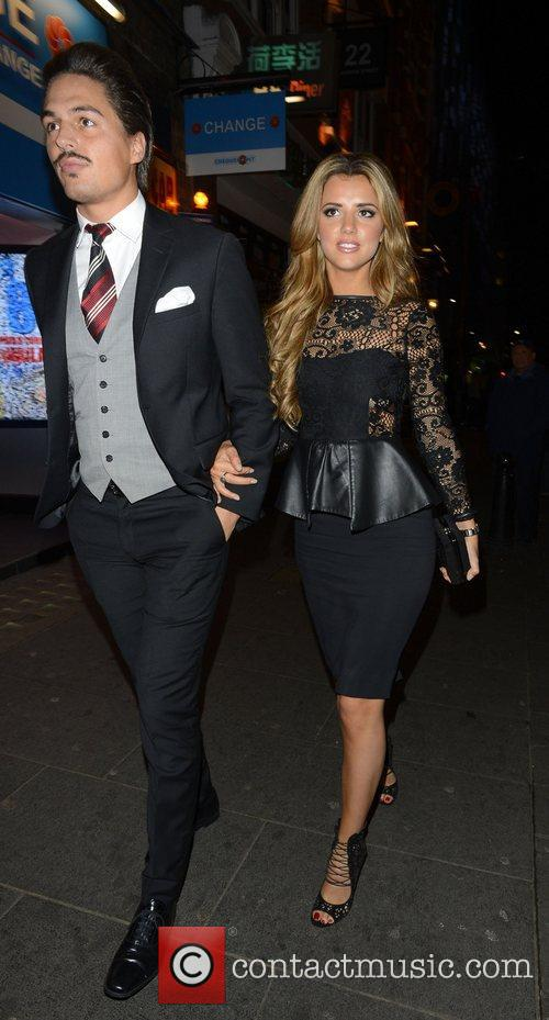 Mario Falcone and Lucy Mecklenburgh 2