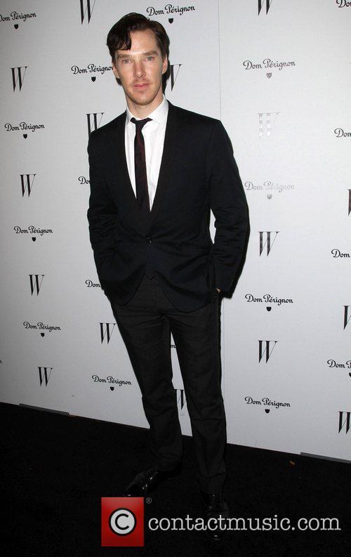 Benedict Cumberbatch and Golden Globe 3