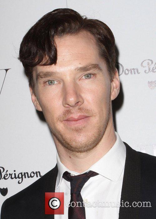 Benedict Cumberbatch and Golden Globe 1