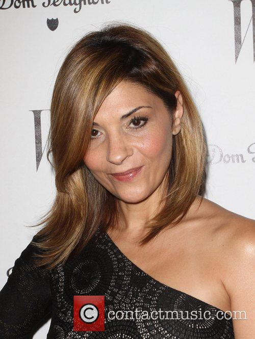Callie Thorne and Golden Globe 4