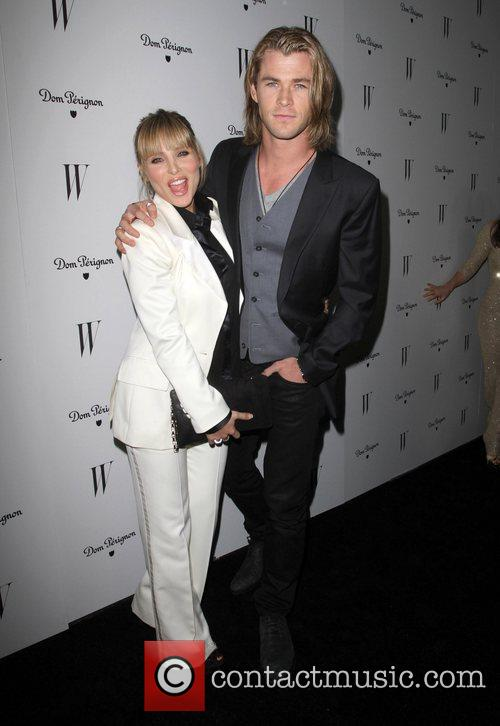 Elsa Pataky and Chris Hemsworth W Magazine's great...