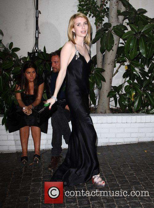 Emma Roberts and Golden Globe 2