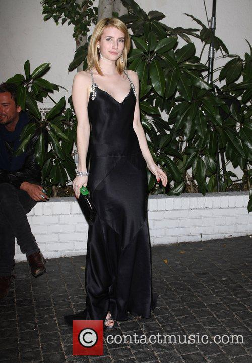 Emma Roberts and Golden Globe 4