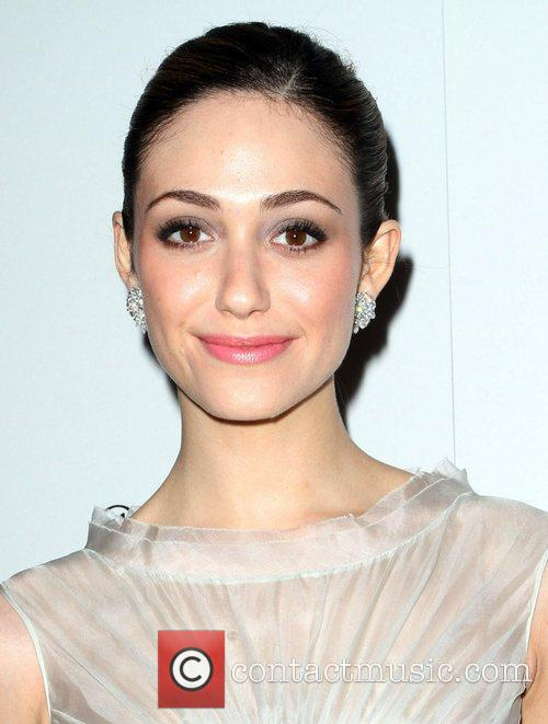 Emmy Rossum and Golden Globe 3