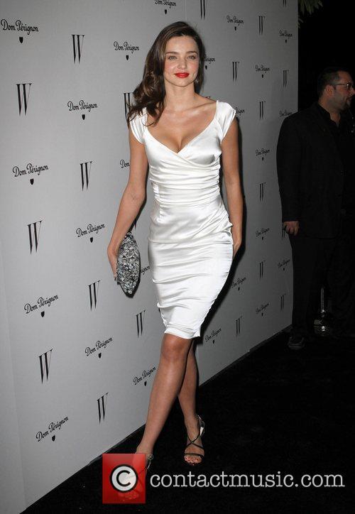 Miranda Kerr W Magazine's 69th Annual Golden Globe...
