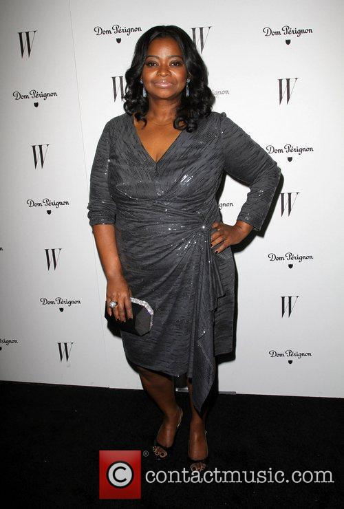 Octavia Spencer and Golden Globe 3