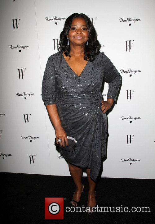 Octavia Spencer and Golden Globe 4