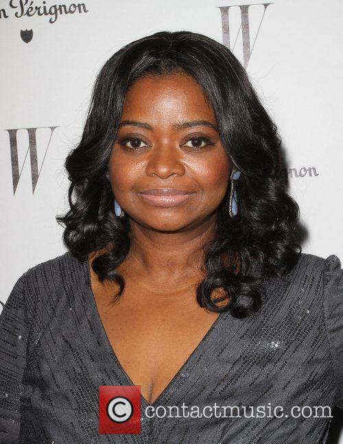 Octavia Spencer and Golden Globe 1