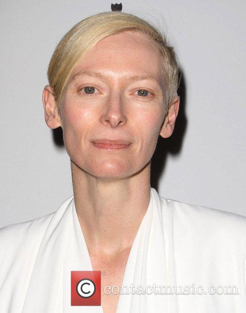 Tilda Swinton and Golden Globe 3