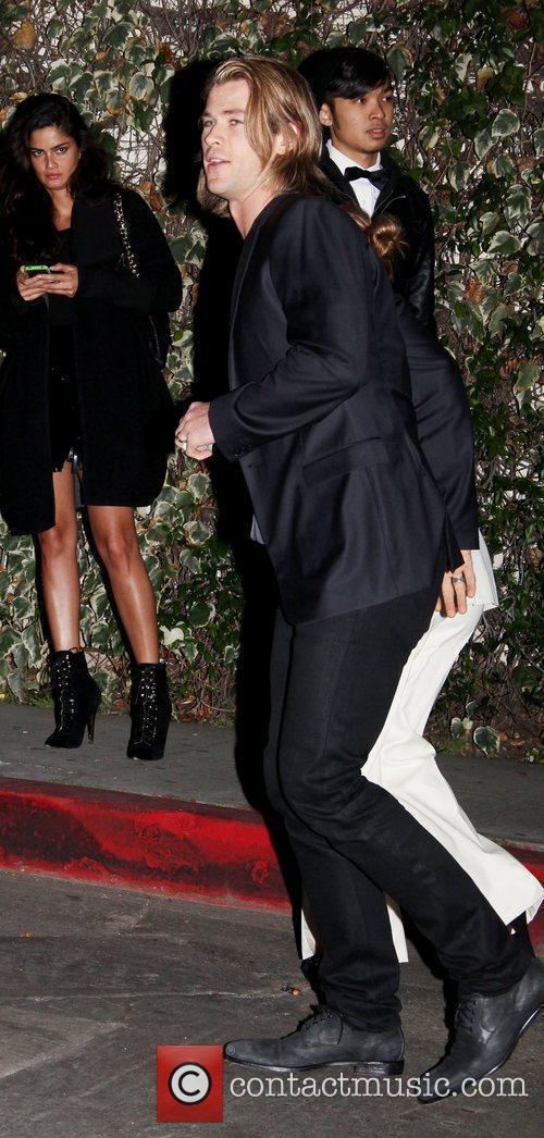 Chris Hemsworth W Magazine's 69th Annual Golden Globe...