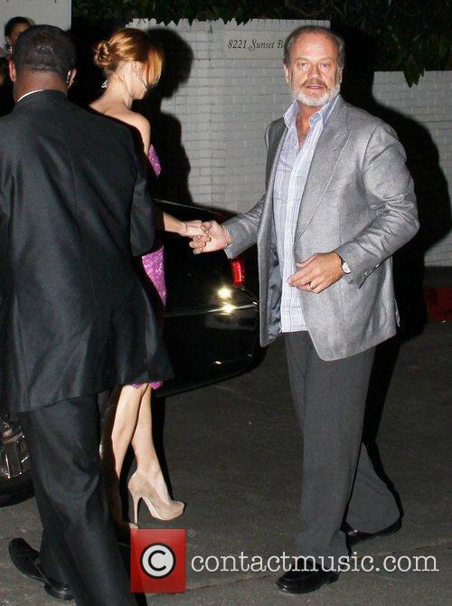 Kayte Walsh and Kelsey Grammer W Magazine's 69th...