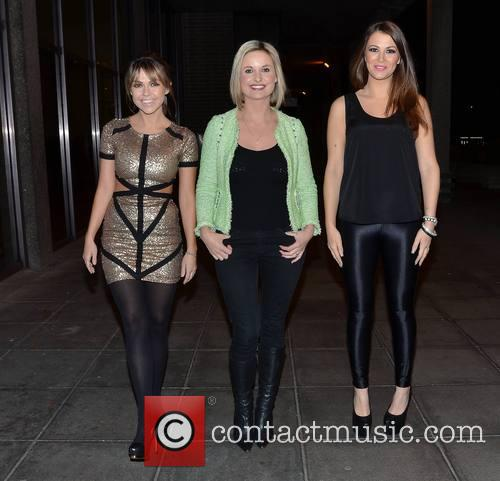 Adele Silva, Siobhan O'connor and Natasha Giggs 4