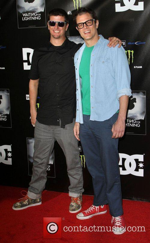 Ken Block and Johnny Knoxville 2