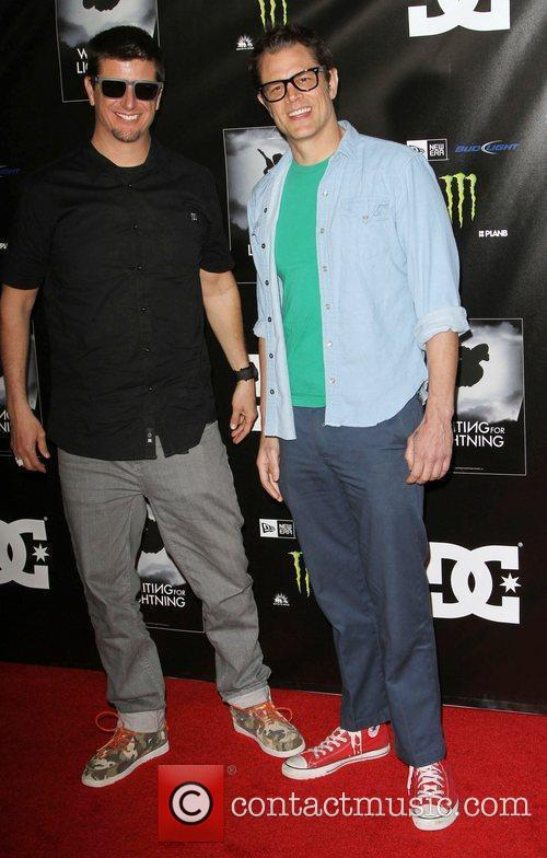 Ken Block and Johnny Knoxville 1