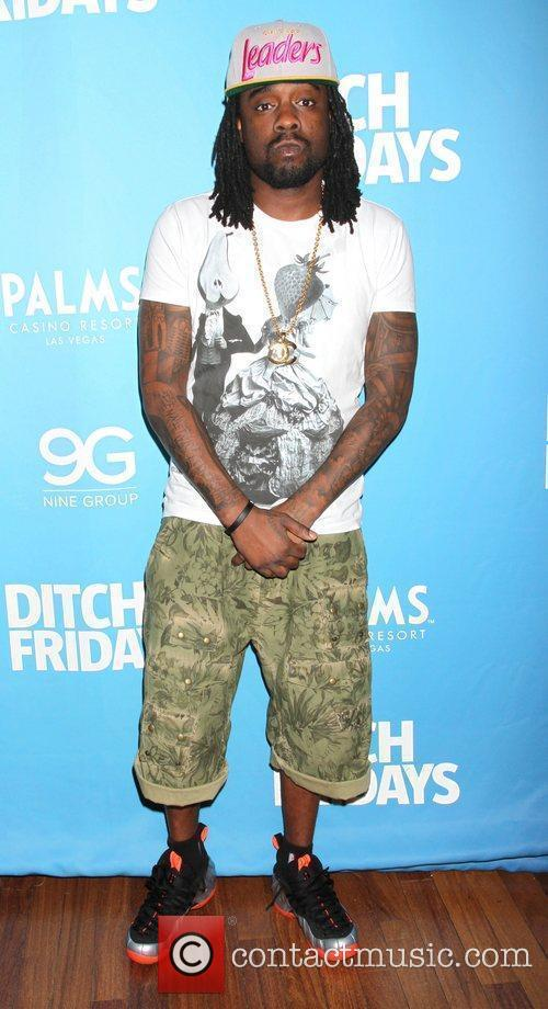 Rapper Wale attends and performs at 'Ditch Friday's'...